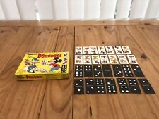 "Vintage Complete Walt Disney 28 ""Dominoes"" Dominos by Waddington 1971"