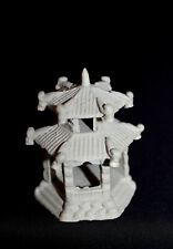 "2"" x 2.25""H Hexagon Pavilion mudmen Bonsai Figurine"