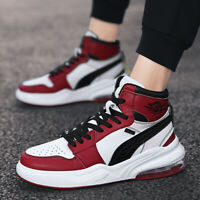 Men Basketball Sneaker Fashion Athletic High Top Sport Casual Student Shoes Soft