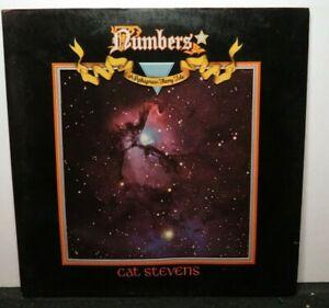 CAT STEVENS NUMBERS (VG+) SP-4555 LP VINYL RECORD