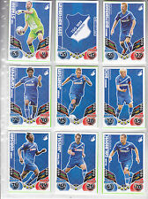 19 x TSG Hoffenheim team set complet TOPPS MATCH ATTAX 2011/2012