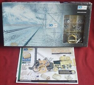 OcCre 1:24 Robert Stephenson Rocket Wooden Train Kit - cat. 54000 - From Spain