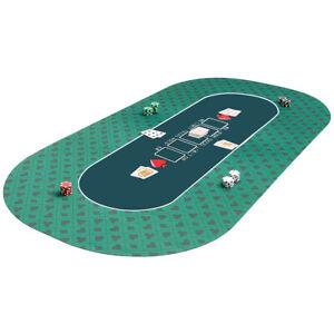 Pokermatte 180x90cm Pokerauflage rollbar Pokerteppich Pokertuch Pokertisch