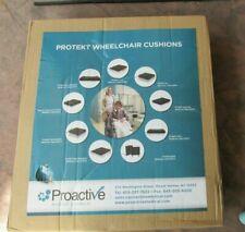 "Protekt Bariatric Gel Wheelchair Cushion with Straps - 18"" x 16"" x 3"" NEW/SEALED"