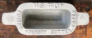 Knight Foundry Handmade 40 oz. Ingot Mold Casting - Choose Your Color - Gift