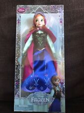 Disney Store Frozen Anna Doll Brand New In Box