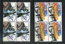 Nederland 1990 VOC en Sail Amsterdam 1453-1454 blokken van 4