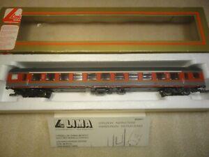 LIMA 309287 - Personenwagen 1. Kl. FS, rot-orange-grau, DC, KK, OVP, Top Modell