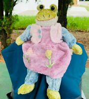 "Vintage Creative Design Decorative Collectible Frog 15"" Plush Stuffed Decoration"