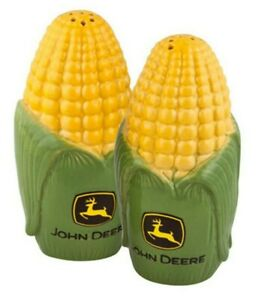 NEW John Deere Ear of Corn Salt and Pepper Shakers LP35758