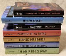 TOMORROW Series Complete 7 Book Set JOHN MARSDEN When the War Began 5 HBDJ 2 PB