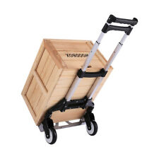 Adjustable Hand Truck Dolly165 Lb Load Capacity2 Wheel Cart For Moving Saveus