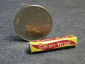 Dollhouse Miniature Plastic Food Wrap 1:12 one inch scale G26 Dollys Gallery