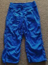 82dbd71bd5 Lululemon gorgeous blue loose fit dance yoga lounge pants size 4 CAN 8 - 10  AU