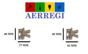 Cerniera LF per mobili antichi armadi in bronzo anticato