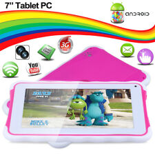 "7"" INCH KIDS ANDROID 4.4 TABLET PC QUAD CORE 8GB WIFI CHILD CHILDREN Dual Camera"