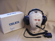 Telex HS-905E Aviation helicopter Headset with Boom Mic & MM-900 PTT Adapter Box