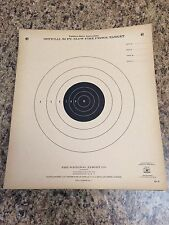 VTG Lot of 85 Qty Official NRA B-2 50ft. Slow Fire Pistol Targets -- USA Made