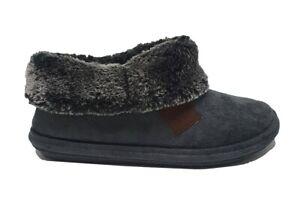 Womens Jo & Joe Wool Lined Grey slipper Boots