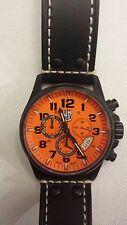 NEW Men's LUMINOX ATACAMA 1849 Chronograph Alarm 1840 SERIES Orange Black Watch