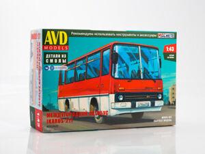 Ikarus 211 Unassembled Kit AVD Models by SSM 1:43