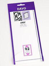 DAVO EASY BLACK Self-Adhesive MOUNTS Z92