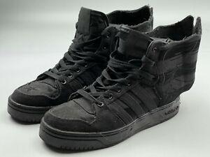 Adidas Jeremy Scott Sneakers Asap A$AP Rocky Wings 2.0 Black Flag Shoes D65206