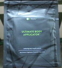 Pack of 4 New It Works! Ultimate Body Applicators Wraps Sealed Exp. Date 10/20