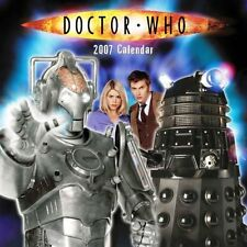 DOCTOR WHO OFFICIAL 2007 CALENDAR , NEW, SEALED  DAVID TENNANT