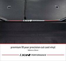 Hyundai i30n Sticker Performance Boot Brace Strut Premium 10 Year Vinyl Decal
