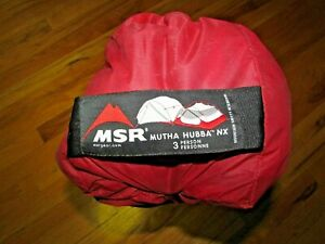 MSR Mutha Hubba NX 3 Person Tent- Trade Show Tent