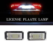 2x White LED License Plate Light High Power for BMW Mini Cooper S R50 R52 04-08