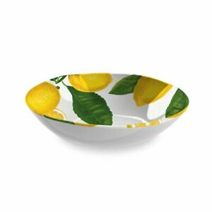Eddingtons Lemon Fresh Salad Bowl - Melamine - Outdoor Dining/Picnic - 30cm