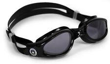 Aqua Sphere Kaiman Mens Swimming Goggles - Swim Goggles Transparent Blue Black