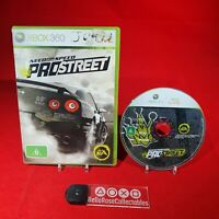 Need for Speed: Pro Street - Microsoft Xbox 360 PAL Game *BellaRoseCollectables*