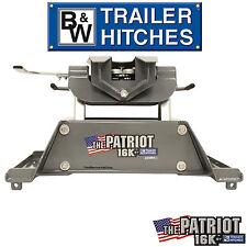 B&W 5th Wheel Hitch RVK3200 16K 16,000 LBS GTW Fifth Wheel Trailer + RAIL MOUNTS