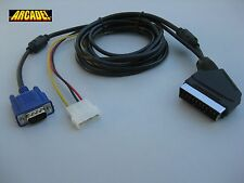 Cable VGA RGB ARCADEVGA A SCART ( EUROCONECTOR ) para JAMMA