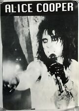 "Alice Cooper Original Vintage 80s / 90s 23"" x 33"" Concert Poster - New/Near Mint"