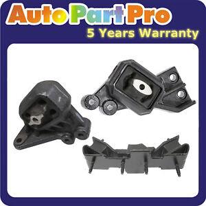 For Dodge Ram 1500 4.7L 5.7L 06-07 MotorKing Engine Motor & Trans Mount Set 3PCS