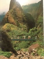 Lao Needle Maui Landmark The Valley Island Vintage Postcard Unposted