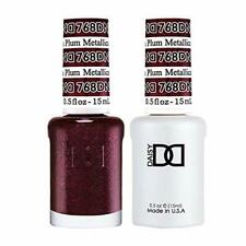 DND Daisy Soak Off Gel Polish Metallic Plum 768 LED/UV .5oz gel duo DND 768
