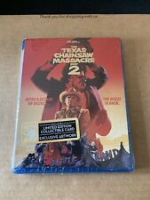 THE TEXAS CHAINSAW MASSACRE 2 LIMITED EDITION REGION A BLU RAY NEW & SEALED