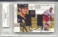 2000-01 Ultimate Magnificent Ones Francis, Lemieux Auto