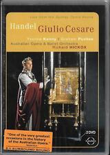 2 DVD Händel `Cesare/Julius Cäsar in Egitto` Neu/New Australian Opera - Hickox
