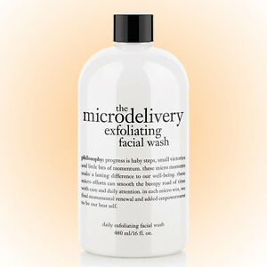 Philosophy Microdelivery Exfoliating Facial Wash 16 OZ. New /Sealed Bottle