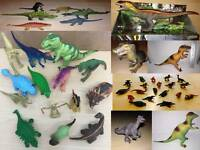 Dinosaur Plastic Toy Figures Various makes and sizes Schleich & Others