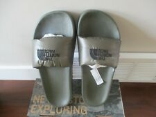 BNWT The NorthFace Nuptse Mens Down Slide Sandals, 700 Fill Power, Size 9, Green