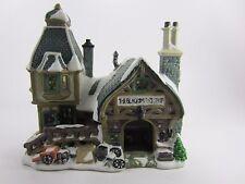 The Blacksmith's Shop Carole Towne Lemax 2003 Christmas Village