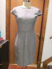 Armani Collezioni Gray Wool Dress Size 44/ Size 8