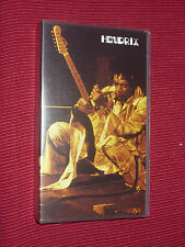 Jimi Hendrix - Band of Gypsys - Live at Fillmore East  UK VHS PAL VIDEO CASSETTE